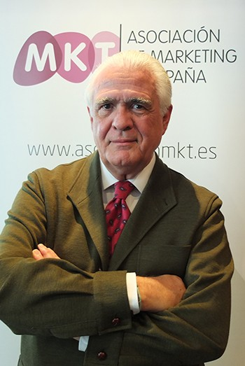 Pedro Aguilar,  vicepresidente de la Asociación de MArketing de España