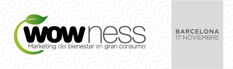 Marketing del Bienestar en las Jornadas de Gran Consumo en Barcelona. 17 de noviembre de 2016