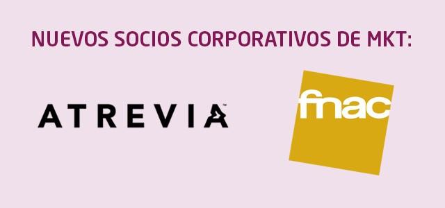 ATREVIA y FNAC, nuevos socios corporativos