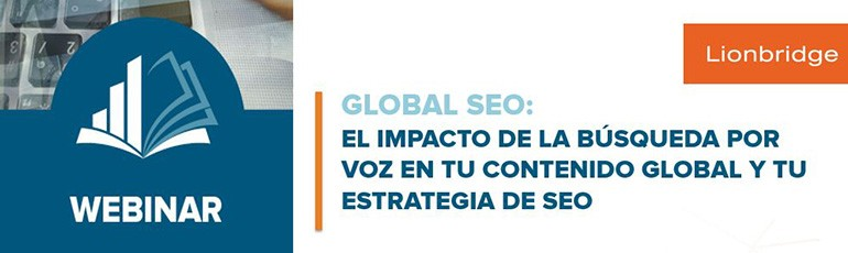 Webinar Lionbridge: Global SEO