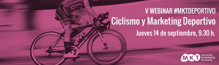Webinar Ciclismo y Marketing Deportivo