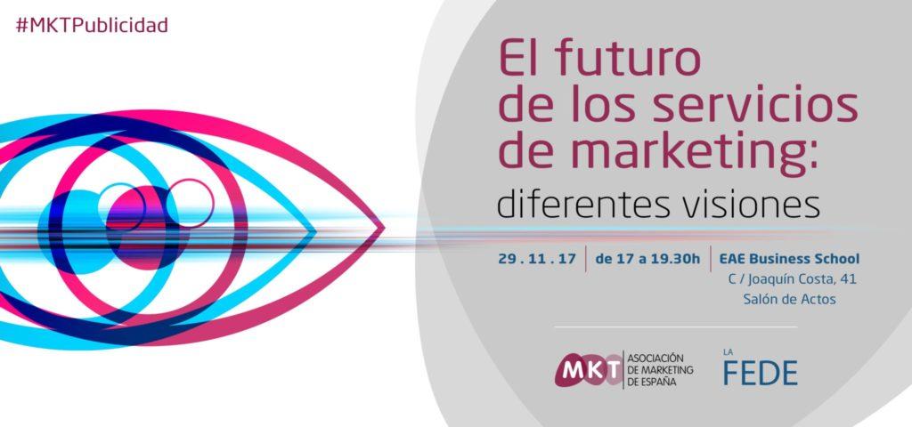 El futuro de los servicios de marketing: diferentes visiones