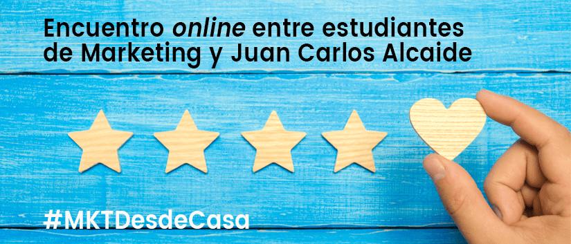 Webinar Estudiantes Juan Carlos Alcaide
