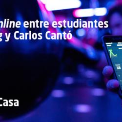 El patrocinio deportivo con Carlos Cantó