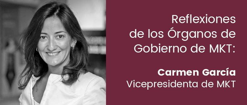 Artículo Carmen García vicepresidenta de MKT