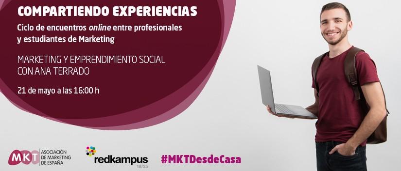 Encuentro online entre estudiantes y Ana Terrado