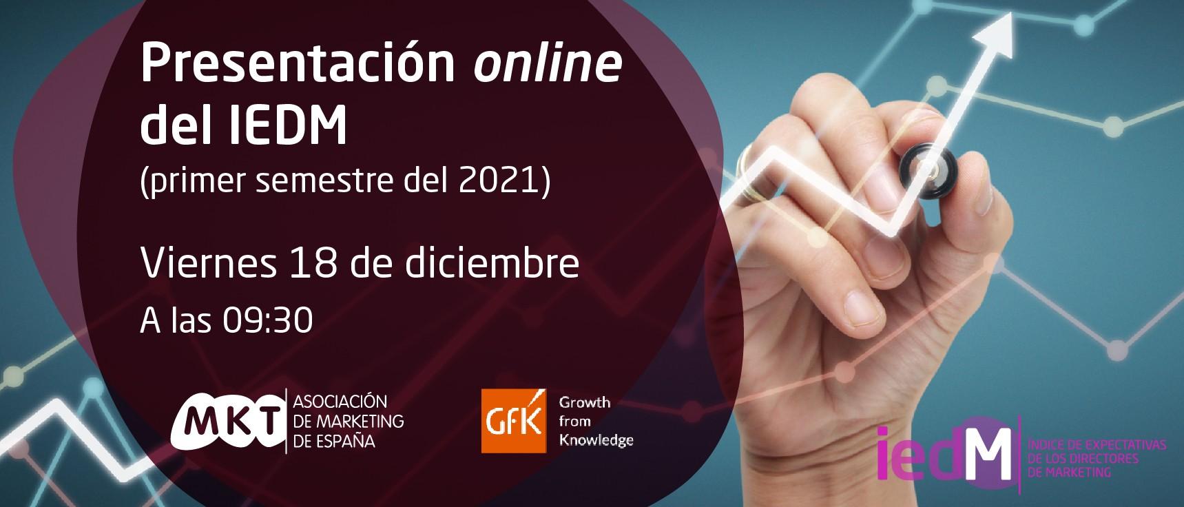 Presentación online de la ola XXIX del IEDM
